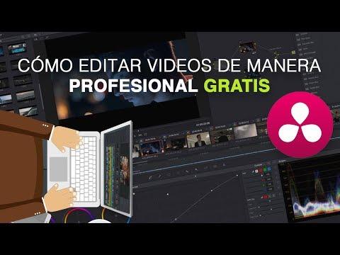 Como EDITAR VIDEOS Profesional GRATIS para Youtube 2018 | Fácil