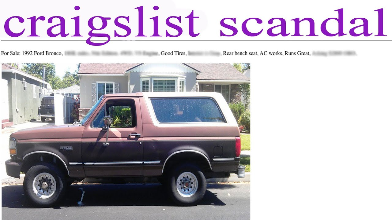 how not to buy a car on craigslist youtube. Black Bedroom Furniture Sets. Home Design Ideas