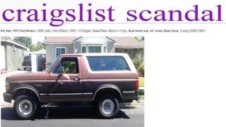 Buying A Used Car On Craigslist (How To Spot A Flipper or Scammer)