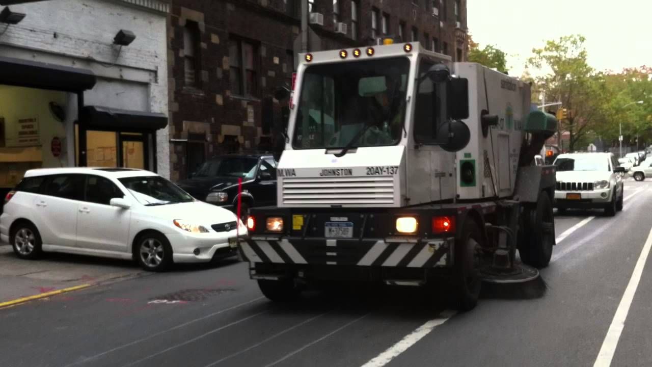 DSNY NEW YORK CITY DEPARTMENT OF SANITATION STREET SWEEPER - Nyc street sweeping map