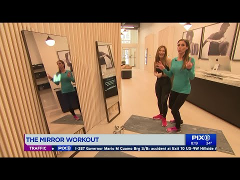 The mirror workout: A gym class right from your home