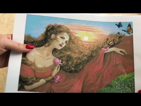 Покупка и обзор 🥰набора «Златовласка» 🥰из группы в Одноклассниках «Бисерная радуга»