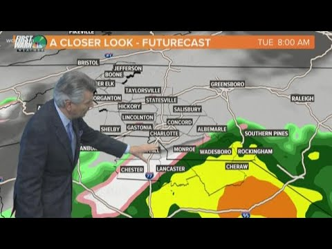No joke: Charlotte-area could see some light snow Tuesday