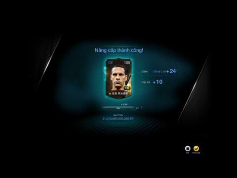 Ép thẻ Rio Ferdinand WB +10 FIFA ONLINE 3