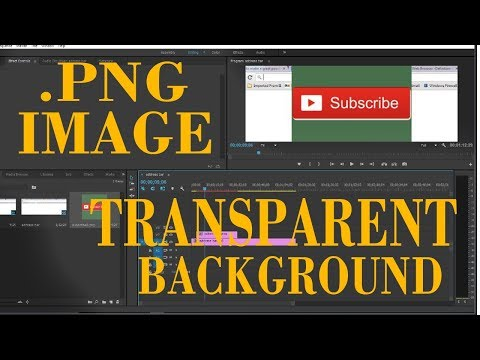 Problem In Premiere Pro To Import Transparent .png Image Background
