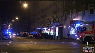 Gasgeruch am Gebäude fordert Rettungskräfte aus Wiesbaden - 18.03.2014
