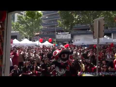 Lion Dance Melbourne Chinese New Year Event - Great Eastern Groceries Centre