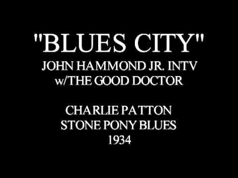 BLUES CITY - JON HAMMOND INTERVIEW - BLUES INFLUENCES