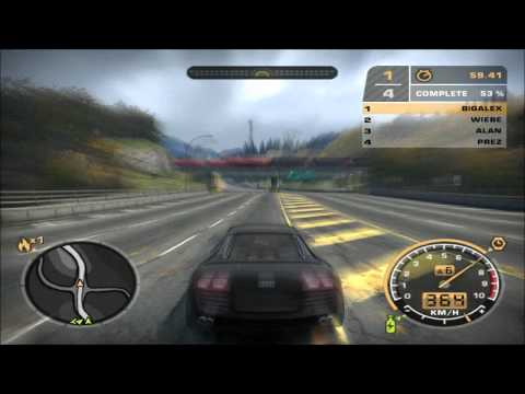 Need for Speed Most Wanted Car Test - Audi Le Mans Quattro