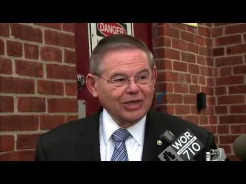 New Jersey Sen. Bob Menendez Votes In Midterms