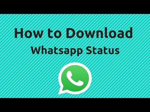 How To Save Whatsapp Video Status - WhatsApp Tricks