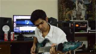 Limit Zero - Pulsar feat. Siddharth Basrur Guitar Playthrough (Radio Edit)