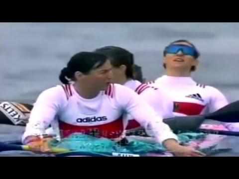 1998 ICF World Championship Canoeing Szeged Woman's K-4 500 m Final (16:9)