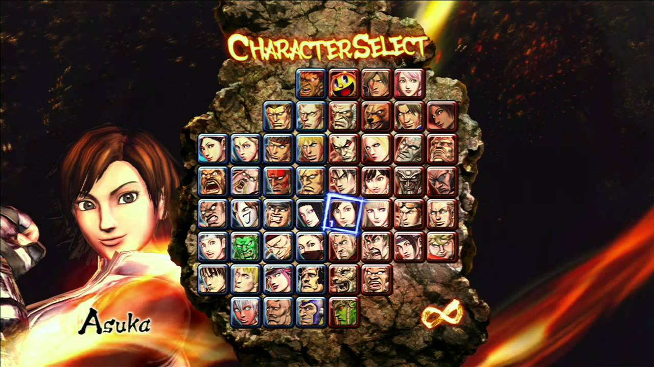 street fighter vs tekken complete edition personagens