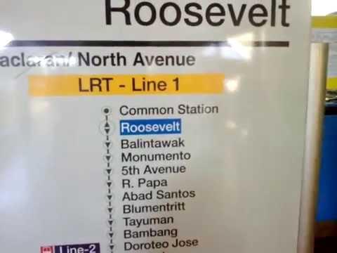 DJD @ LRT 1 RooseveLt Station :D