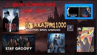 BAM! HORROR BOX - JULY 2018