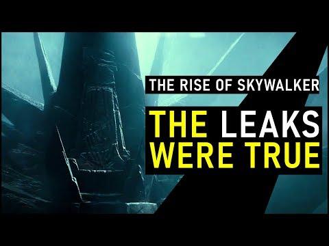 New RISE OF SKYWALKER Trailer CONFIRMS Massive Plot Leaks (SPOILERS!!) | Star Wars