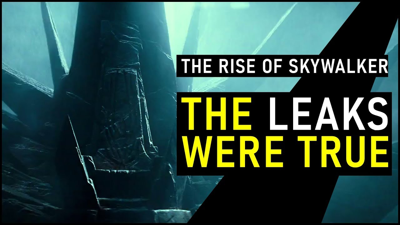 New RISE OF SKYWALKER trailer CONFIRMS Massive Plot Leaks (SPOILERS!!) | Star Wars