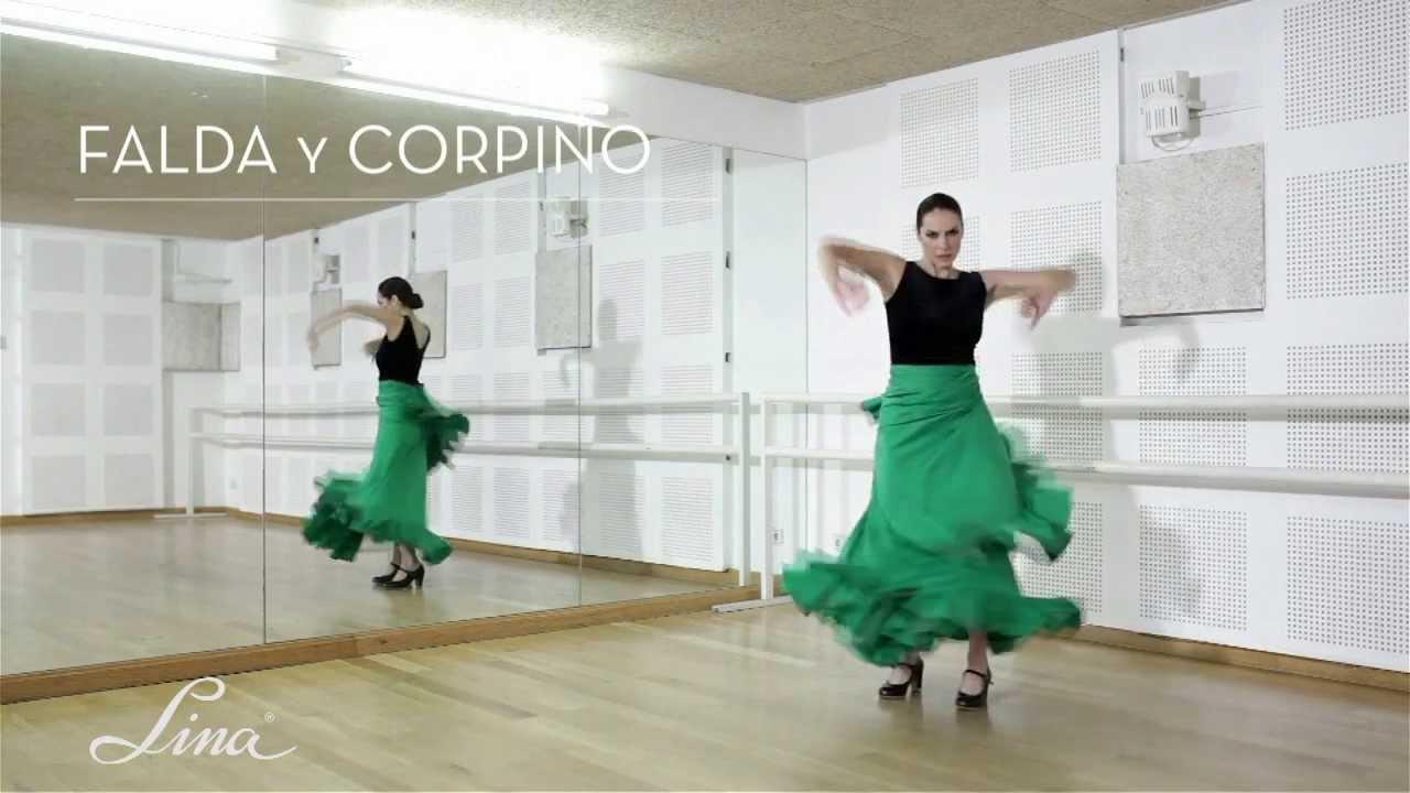 42d3ba2e52b Falda flamenca y corpiño de baile - YouTube
