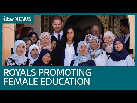 Harry and Meghan promote female education on Morocco tour | ITV News