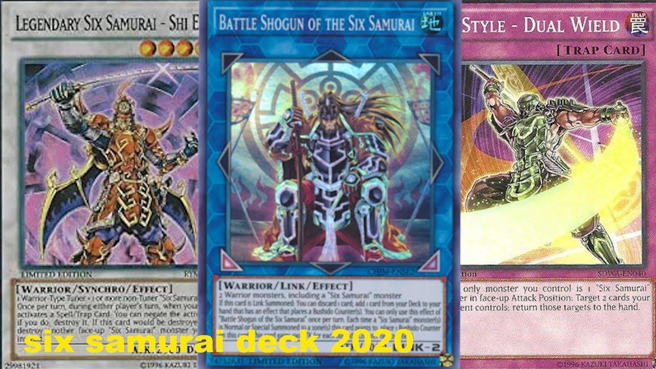 Six Samurai Deck 2020
