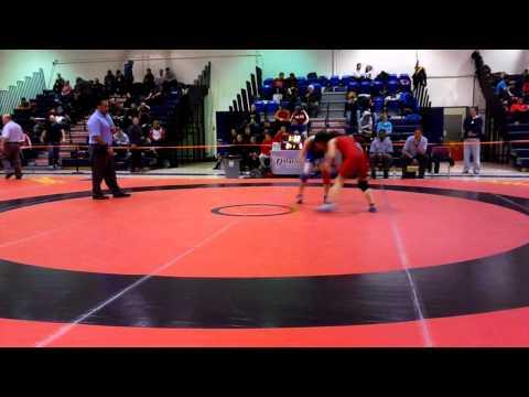 2014 Ontario Juvenile Championships: 46 kg Erica Turcotte vs. Farrantina Gatta