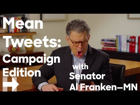 Mean Tweets campaign edition with Senator Al Franken | Hillary Clinton