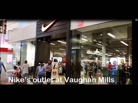 VAUGHAN MILLS 30% OFF NIKE FACTORY STORE  CANADA