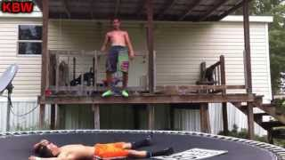 trampoline wrestling kbw cj vs ak 47 1 contender street fight
