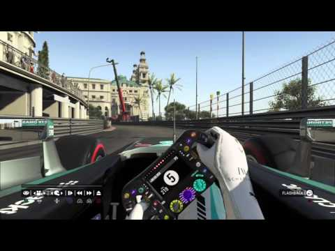 Live PS4 F1 Monaco...(no assist).