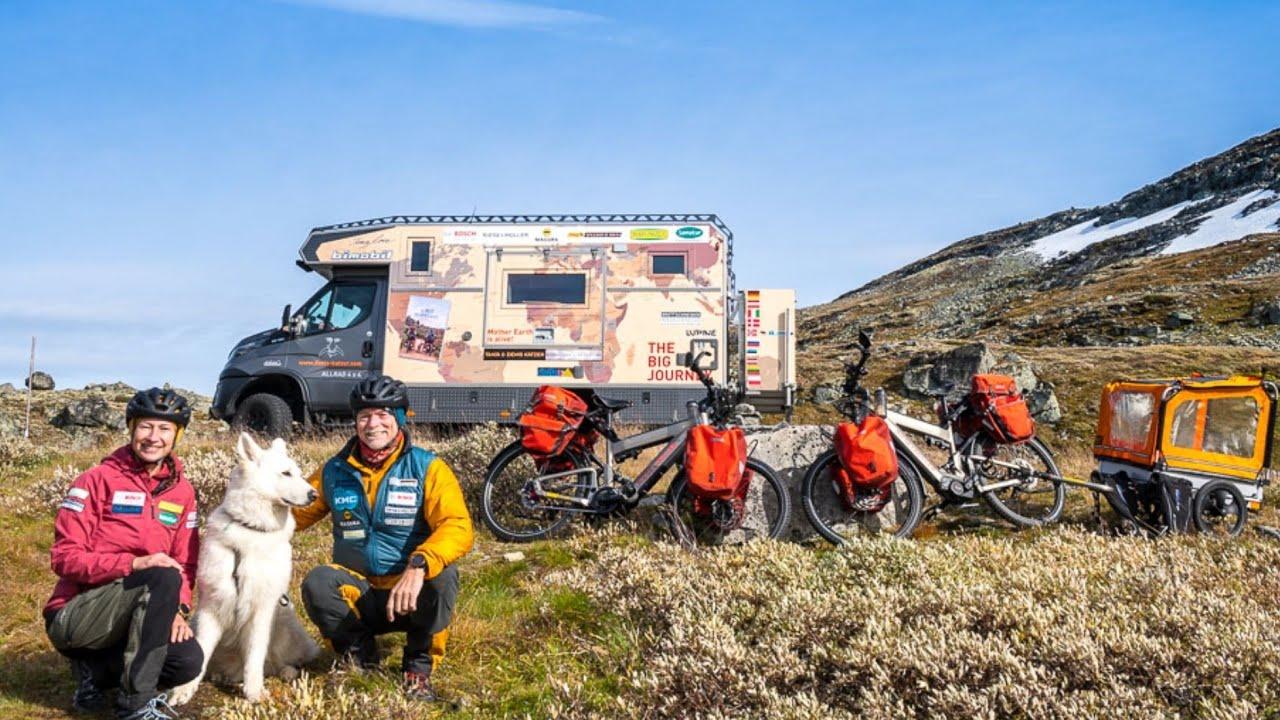 Denis (61) und Tanja. Landweg-Weltreise auf dem Fahrrad von Deutschland nach Thailand. Abenteuer pur
