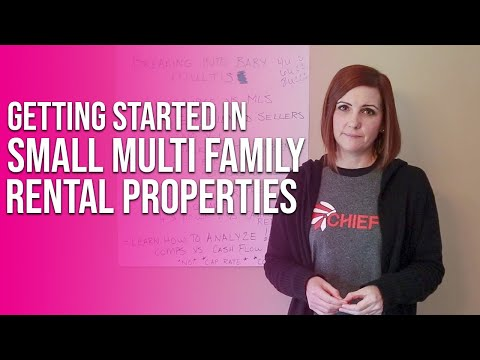 Breaking into Small Multi Family Real Estate Investing