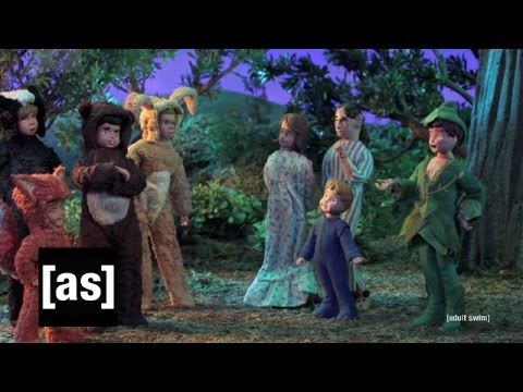 Taken to Peter Pan's Neverland | Robot Chicken | Adult Swim from YouTube · Duration:  2 minutes 13 seconds