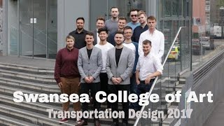 Swansea College of Art Automotive & Transport Design Design Degree Show 2017
