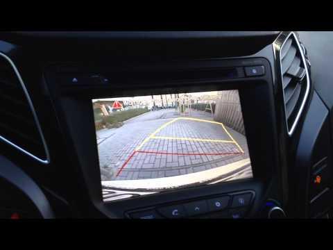 Hyundai i40 inteligentn parkovac kamera