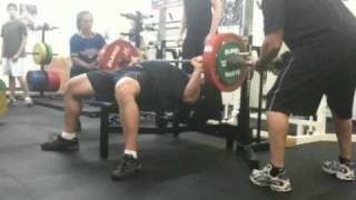 429 lb. (195 kg) Bench Press @ 250
