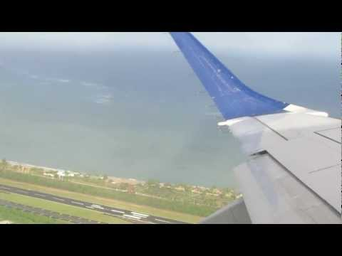 JetBlue Airlines Takeoff from San Juan, Puerto Rico to St. Thomas January 8, 2013