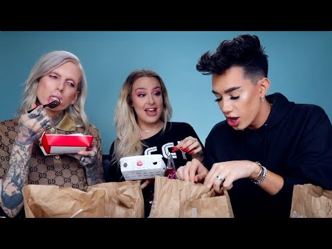 NASTY Jack In The Box Mukbang ft. Jeffree Star & James Charles