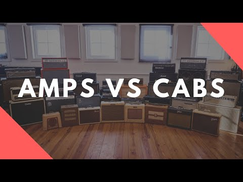 Guitar Amps VS Cabs - Which Matters More