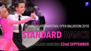 DANISH INTERNATIONAL OPEN BALLROOM 2018 - STANDARD DANCE