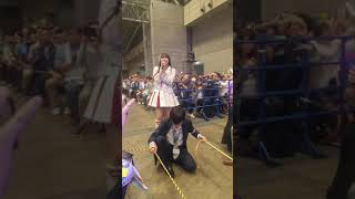 HKT48 豊永阿紀 AKB48グループ感謝祭 2017.10.8 松岡はな推し席より