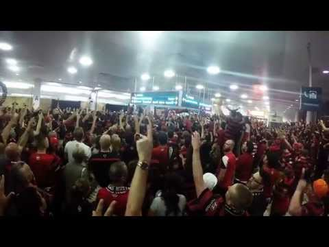 Western Sydney Wanderers - Airport Arrival