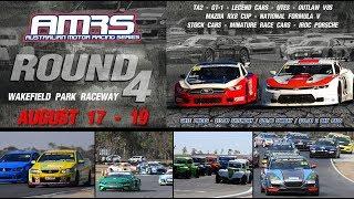 2018 Australian Motor Racing Series Round 4 Wakefield Park Sunday LIVE