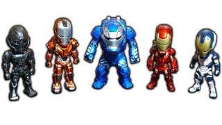 NTN - Trên Tay Bộ 5 Iron Man Trị Giá 3.000.000 VNĐ (Top 5 ironman figure worth 128.69$ hand on)
