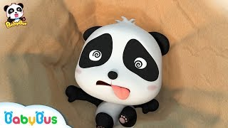 Rudolph's Sister Nana is Missing | Fall into a Big Hole | Magical Chinese Characters | BabyBus