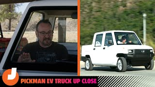 homepage tile video photo for The Pickman EV Truck Up Close