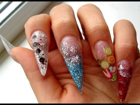 Nail Technician Courses Video Acrylic Nail Extension Course In