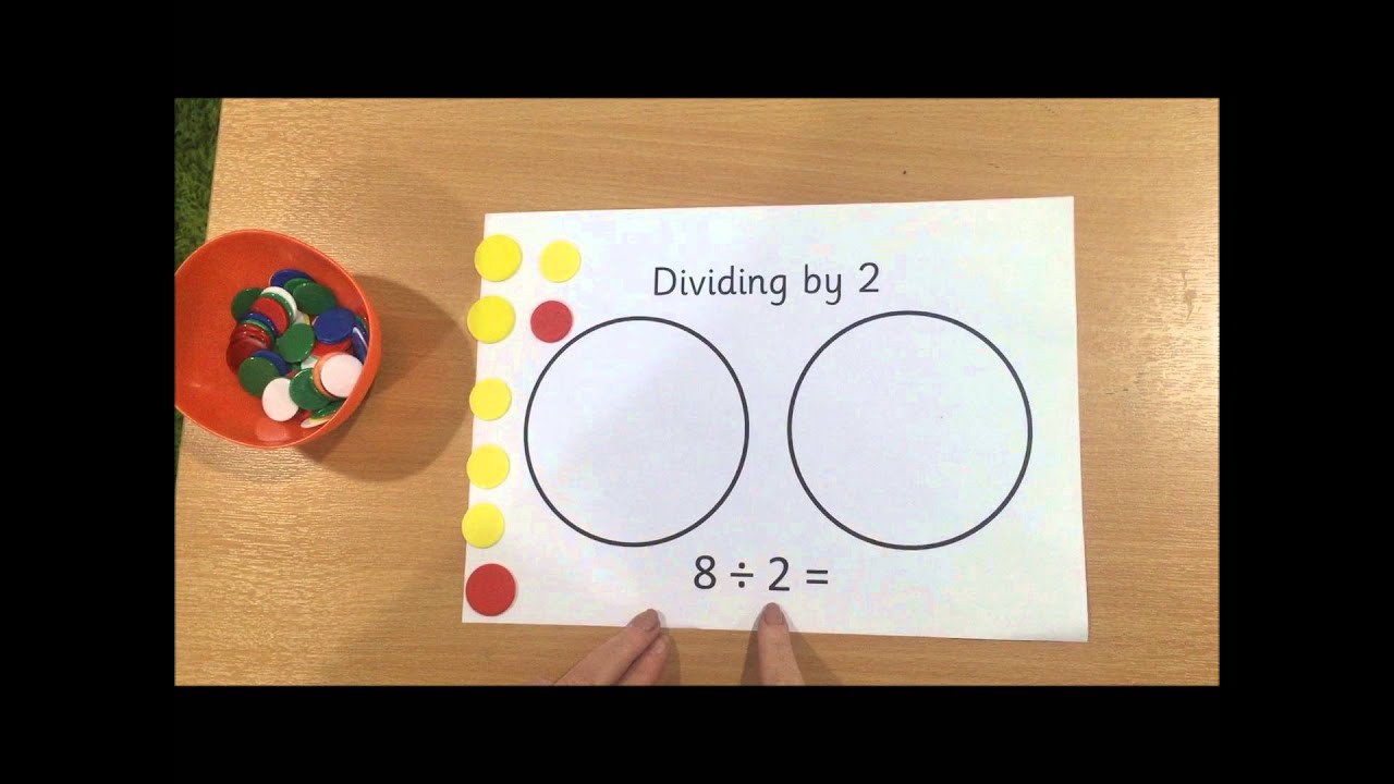how to teach division to year 1