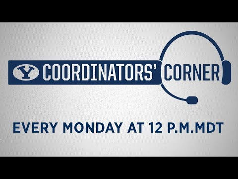 BYU Football Coordinators' Corner - October 9, 2017