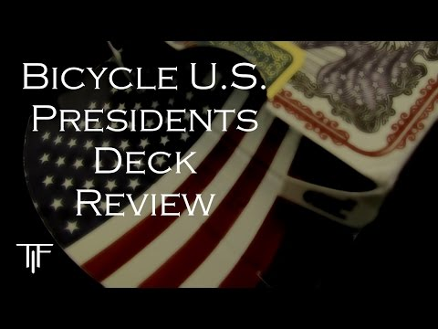 Bicycle U.S. Presidents Playing Cards - Deck Review